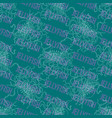 seamless blue pattern with jellyfishes2 vector image