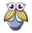 big fly icon cartoon style vector image vector image
