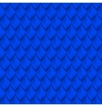 Blue dragon scales seamless background texture vector image vector image