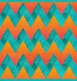 colored zigzag seamless texture vector image vector image