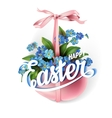Easter spring vector image vector image