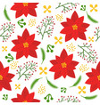 floral seamless pattern flat design for use vector image
