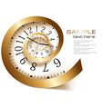 infinity time vector image vector image