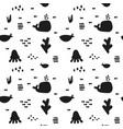 monochrome toucan vector image vector image