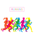 Running People Run Athlete vector image vector image