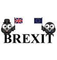 UK exit from the European Union vector image vector image