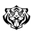 tiger head vector image