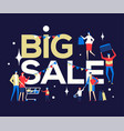 big sale - flat design style colorful vector image vector image
