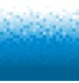 Blue Pixel Background vector image vector image