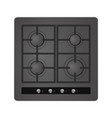 electric cooking oven vector image