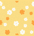 floral seamless pattern flat design for use as vector image vector image