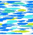 Pattern with brushstrokes and stripes vector image vector image