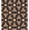 Seamless black decorative pattern vector image vector image