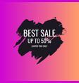 splash ink banner best sale original poster vector image vector image