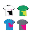 t-shirt collection vector image vector image