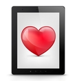 Tablet PC vector image