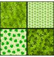 clover seam vector image vector image