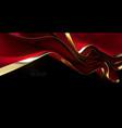 dark red streaming velvet fabric vector image vector image