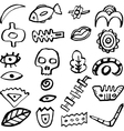 Ethnick elements vector image