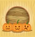 kids costumes happy halloween party vector image vector image