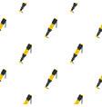 Pneumatic screwdriver pattern flat vector image