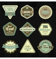 Sale labels and badges design set vector image vector image
