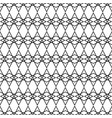 tile black and white pattern for background vector image vector image