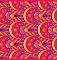 vibrant gradient seamless fairy shells pink vector image