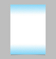 Abstract halftone geometric dot and square