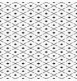 abstract seamless pattern of rhombuses and vector image vector image