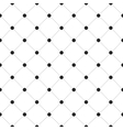 Black veil seamless pattern on white background vector image