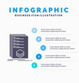 categories check list listing mark infographics vector image vector image