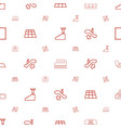floor icons pattern seamless white background vector image vector image