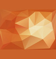 light yellow orange polygon abstract pattern vector image