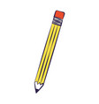 school pen supply on white background vector image vector image