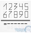 Zip code vector image
