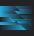 blue black speed geometric technology vector image vector image