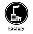 Factory design vector image vector image