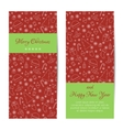 Greeting card banner or brochure for Christmas vector image vector image