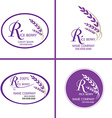 Rice berry logo for Corporate identity logo vector image vector image