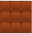 seamless patched leather texture vector image