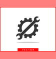 tools wrench icon spanner logo design element key vector image