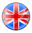 England flag button vector image