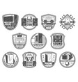 gadgets and devices retro icons for computer store vector image