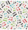 seamless music vector image vector image