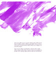 ultra violet purple lilac grunge marble vector image vector image