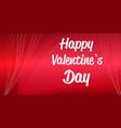 valentines day celebration love banner flyer vector image