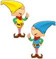 Elf Mascot Giving Thumbs Up vector image