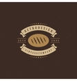 Bakery Shop Logo Template Design Element vector image vector image