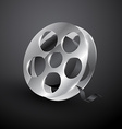 film reel design vector image